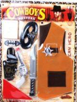 Cowboy szett mellénnyel (4-6 éves méret)