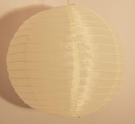 krém organza lampion (35 cm)