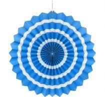 papírtárcsa kék, 40 cm