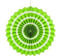 papírtárcsa zöld, 40 cm