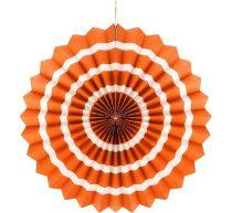 papírtárcsa narancs, 40 cm