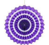 papírtárcsa lila, 40 cm