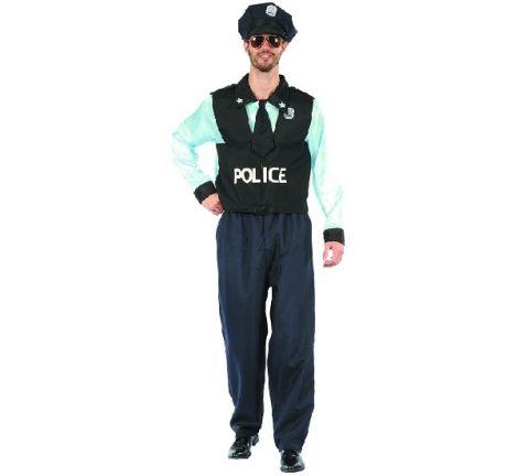 Rendőr férfi jelmez (SDPON-LU52)