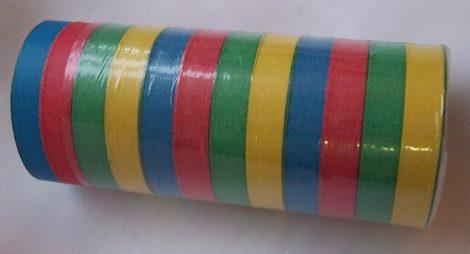 Szerpentin színes, 12 tekercses