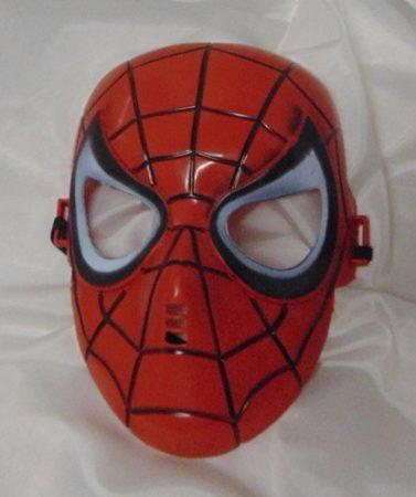 Pókember műanyag álarc