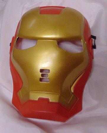 Iron Man műanyag álarc (Vasember álarc)