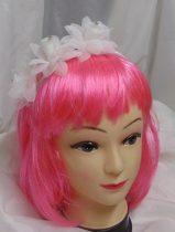 koszorúslány hajpánt strasszos rózsával