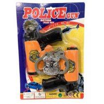 rendőr szett 2 db pisztollyal (6 részes)
