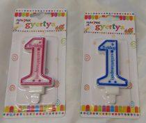 Boldog 1. születésnapot ! gyertya