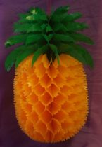Ananász papír dekoráció (31 cm)