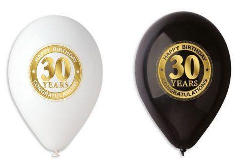 Happy Birthday lufi 30. születésnapra (10 db)