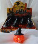 Halloween világító tök (9cm)