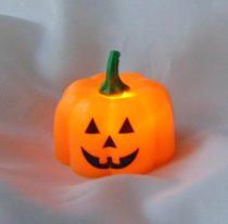 Halloween világító tök (4cm)