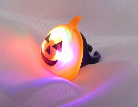 Halloween világító gyűrű