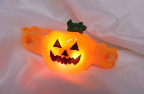 Halloween világító karkötő