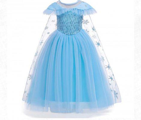 Jégvarázs Elsa jelmez (120-130 méret)
