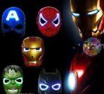 Pókember maszk világító  (spider man)