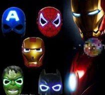 Ironman  maszk világító