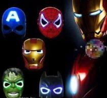 Batman maszk világító