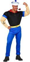 Widmann Super Sailor Popeye Tengerész farsangi jelmez