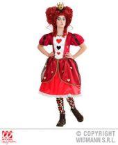 Widmann Szívek Királynője (Queen of hearts) farsangi jelmez