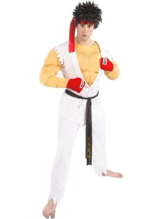 Street Fighter Ryu farsangi jelmez