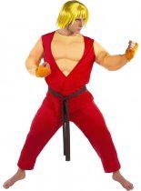 Funidelia Street Fighter Ken farsangi jelmez