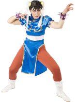 Street Fighter Chun-Li farsangi jelmez