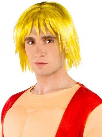 Street Fighter Ken paróka