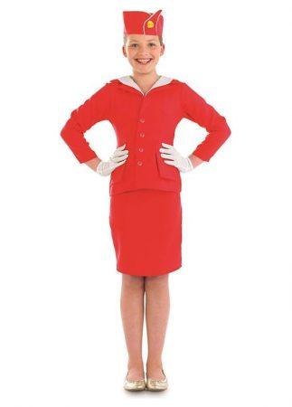 Fun Shack stewardess gyerek farsangi jelmez