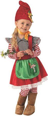 Bristol Novelty GArden gnome girl / Kerti törpe kislány farsangi jelmez