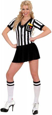 Widmann női foci bíró farsangi jelmez S
