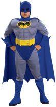 Rubies Batman izmosított farsangi jelmez 8-10 év
