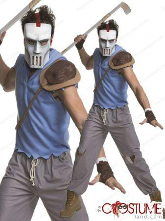 Rubies Tini Ninja Teknős Casey Jones felnőtt farsangi jelmez